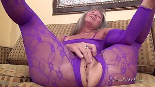 Nylon Body Suit Masturbation