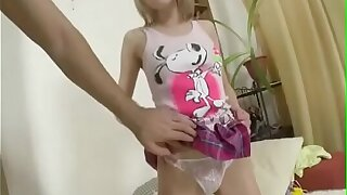 Blonde Russian Teen Extreme Anal