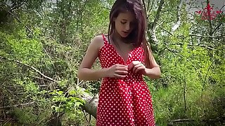 Mr. Gray Wolf did not know that Little Red Riding Hood ... @Kat Rich69 has a black belt in Hard Sex