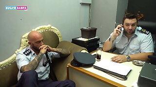 SUGARBABESTV : GREEK FAKE POLICE PART 3