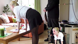 Clip 25Ar-Lil My Employee Needs A Strict Spanking, 11:03min,