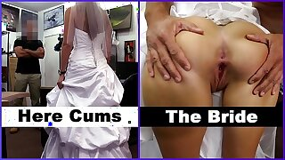 XXXPAWN - Here Cums The Bride, Abby Rose, Looking To Piss Off Her Previously to