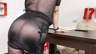 Step Mom Seduce her Son after her Husband go to Work. XSanyAny